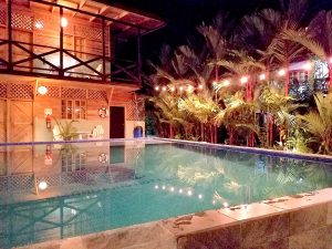 Lizard King Hotel - Pool at Night